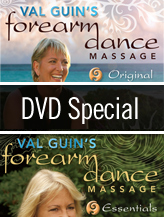 Forearm Dance Massage - 2 DVD SPECIAL