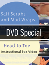 Salt Scrubs, Mud Wraps, Head to Toe - DVD SPECIAL